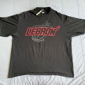 NBA LEBRON JAMES #6 MIAMI HEAT SHIRT